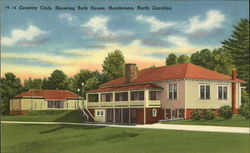 Country Club, Showing Bath House