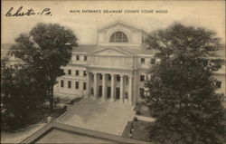 Main Entrance, Delaware County Courthouse
