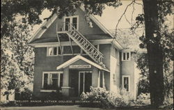 Melody Manor, Luther College Postcard