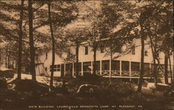 Main Building, Laurelville Mennonite Camp