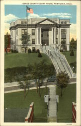 Osage County Court House Postcard