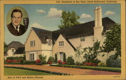Residence of Bob Hope Postcard