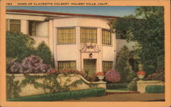 Home of Claudette Colbert