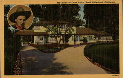 Home of Gene Autry Postcard