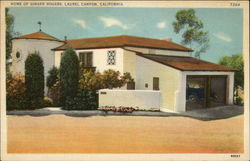Home of Ginger Rogers Postcard