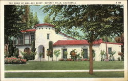 The Home of Wallace Beery