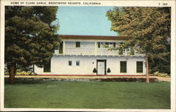 Home of Clark Gable Postcard