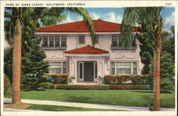 Home of James Cagney Postcard