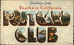 Greetings from Southern California Post Card Club
