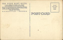 The Dixie Hunt Hotel