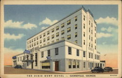 The Dixie Hunt Hotel Postcard