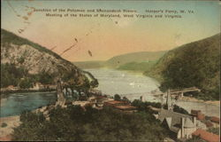 Junction of the Potomac and Shenandoah Rivers