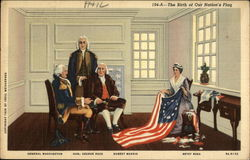 The birth of our Nation's flag