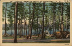Lake Eaton Public Camp Grounds, Adirondack Mountains