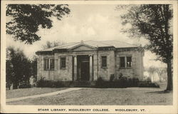 Starr Library, Middlebury College