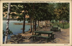 Fish Creek, State Camping Grounds