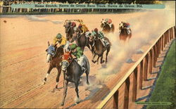 Home Stretch, Havre de Grace Race Track