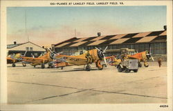 Planes at Langley Field