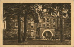 College Home, Erskine College