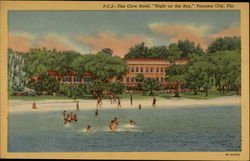 "The Cove Hotel, ""Right on the Bay"" Postcard"