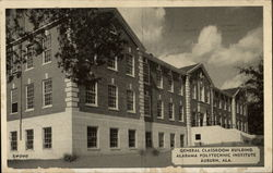 General Classroom Building, Alabama Polytechnic Institute