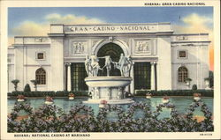 National Casino at Marianao Postcard