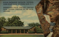 South entrance pavilion, Watkins Glen State Park