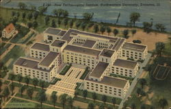 New Technological Institute, Northwestern University Postcard