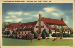 "Potawatomi Inn at Lake James, ""Pokagon State Park."""