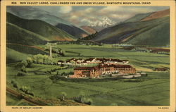 Sun Valley Lodge, Challenger Inn and Swiss Village