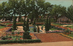 Sunken Garden and Lily Pool, Governor's Mansion