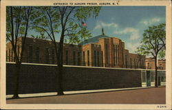 Entrance to Auburn Prison