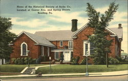 Home of the Historical Society of Berks Co