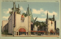 The Chinese Theatre Postcard