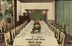 Rancho Verde Room, Hotel Green