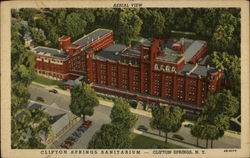 Aerila view Clifton Springs Sanitarium--Clifton Springs, N>Y>