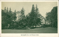 Springside Inn on Owasco Lake