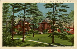 Library and Campus, Allegheny College