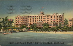 Fort Montagu Beach Hotel Postcard