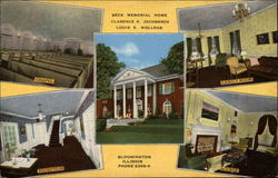 Beck Memorial Home, Clarence K. Jacobbsen, Louis E. Wollrab