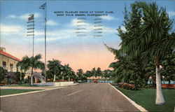 North Flagler Drive at Yacht Club