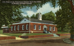 Vista of the Picturesque Colonial U.S. Post Office