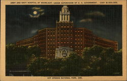 Army and Navy Hospital by Moonlight
