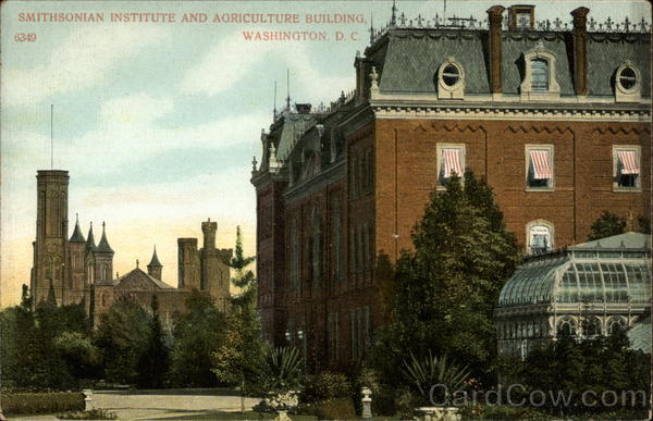 Smithsonian Institute and Agriculture Building Washington District of Columbia