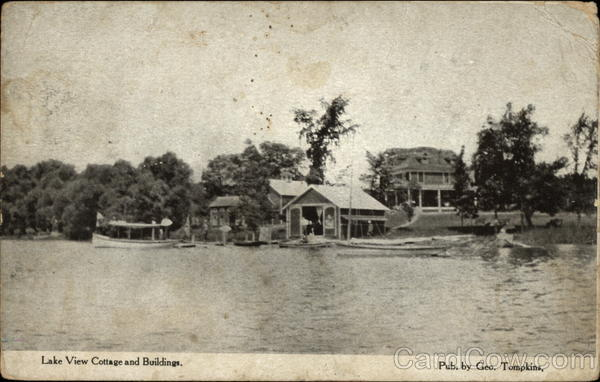 Lake View Cottage and Buildings Altamont New York