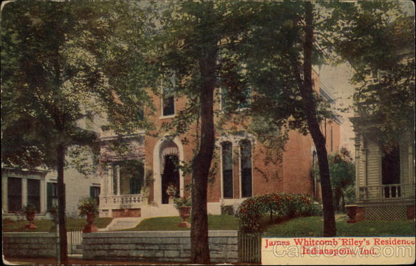 James Whitcomb Rikley's Residence Indianapolis