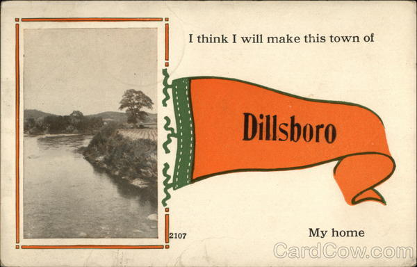 I think I will make this town my home Dillsboro Indiana