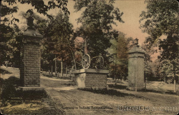 Gateway to Indiana Soldier's Home Lafayette