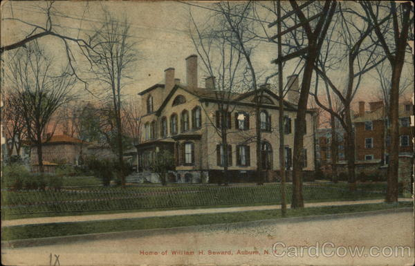 Home of William H. Seward Auburn New York
