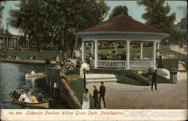 Lakeside Pavilion Willow Grove Park Philadelphia Pennsylvania